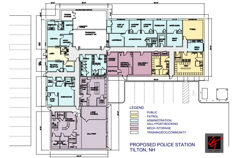 Proposed Police Station